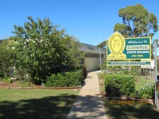 Gowrie State School administration building